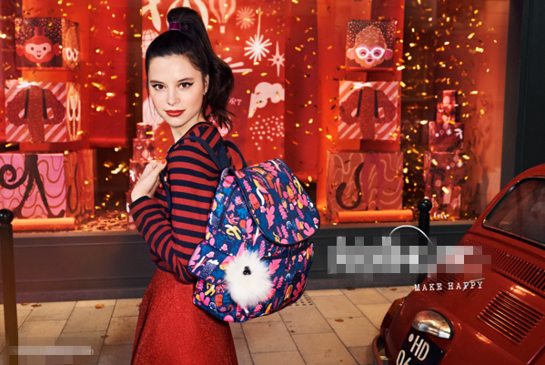 凯浦林Kipling推出2016冬季系列包包广告大片