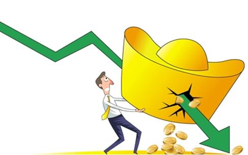 今日金价走势预测:黄金大跌难招架