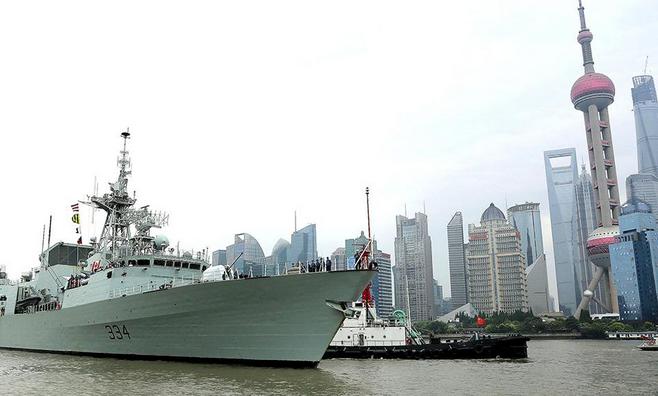 中国海军时隔10年后 再次访问维多利亚