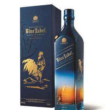 尊尼获加蓝牌推出《金鸡典藏》台湾限定版名酒