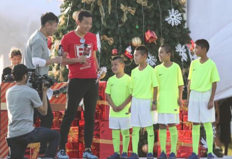 中国男足国家队队长冯潇霆发起并筹办的首届爱心公益慈善赛
