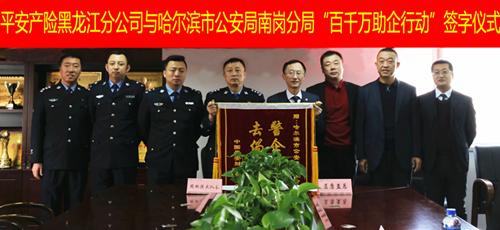 平安产险黑龙江分公司携手公安应对汽车保险欺诈