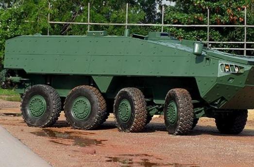 新加坡装甲车没有消失 而是被转移到了室内