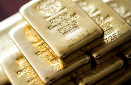 【期金收盘】黄金价格微涨,因美元回落及需求上升