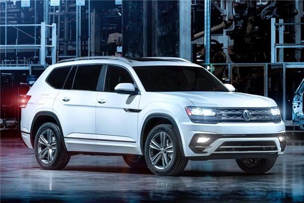 大众名车品牌发布Atlas R-Line官图 新车造型更加动感