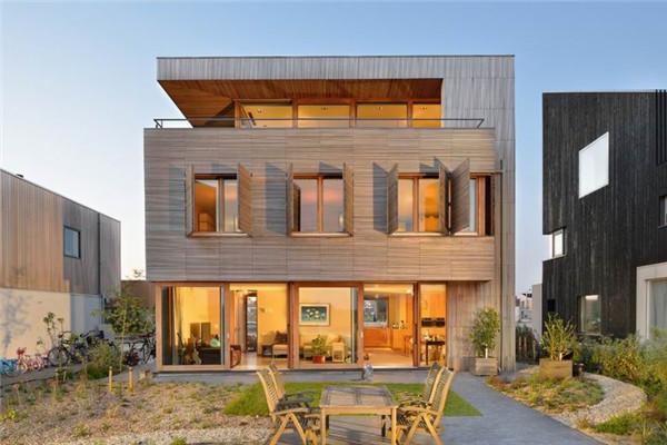 天然木质豪宅:业主能够享受到最大的景观