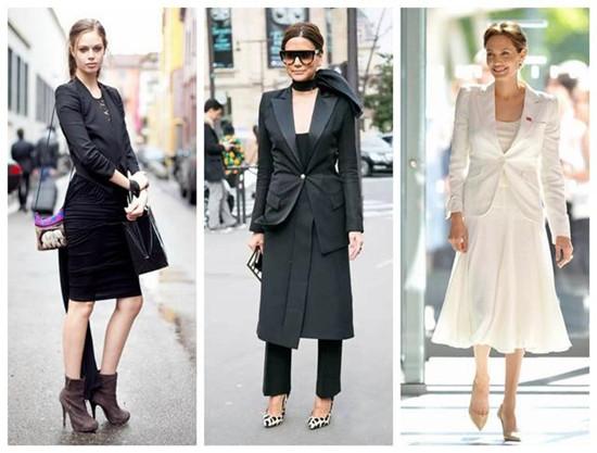 欧美服装流行趋势示范 连衣裙也可以温度风度兼得