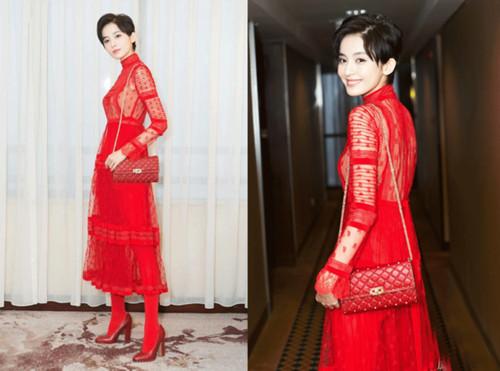 春季服装流行趋势示范 过新年小红衣还得抢着穿!