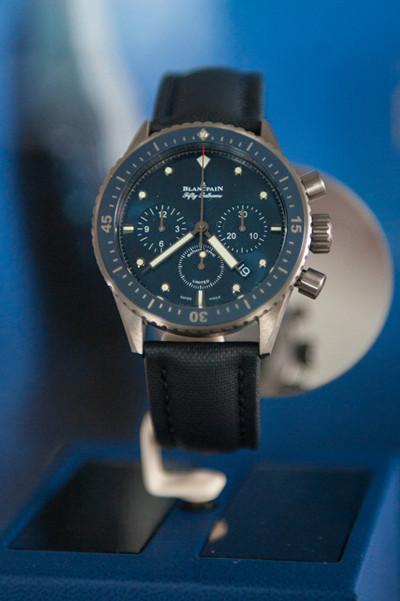 """Blancpain推出全新""""心系海洋""""限量版腕表"""