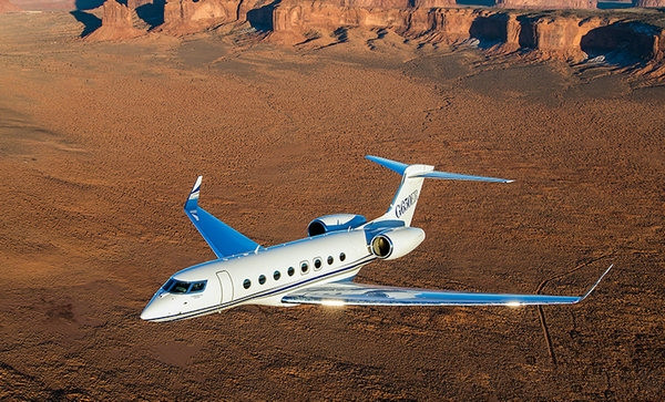湾流G650ER私人飞机速度测试又创全新世界纪录