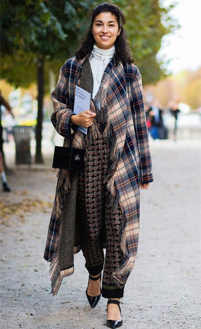 达人穿衣搭配技巧示范 3条定律让你时髦的不得了