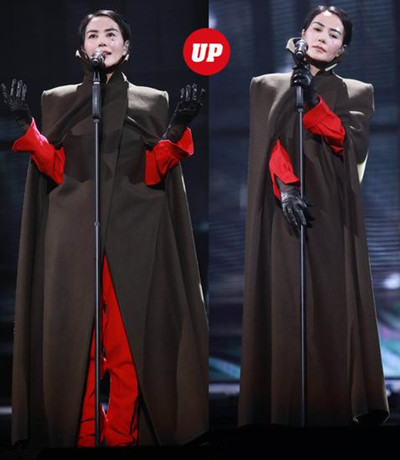 看明星穿衣搭配红黑榜 王菲英气率性邓紫棋依旧雷人