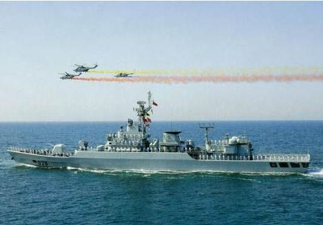 中国在1月14日向巴基斯坦交付了两艘巡逻舰