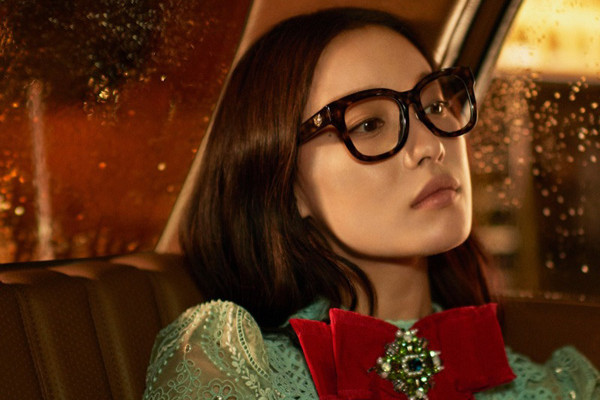 倪妮成为Gucci新任亚洲区眼镜形象大使