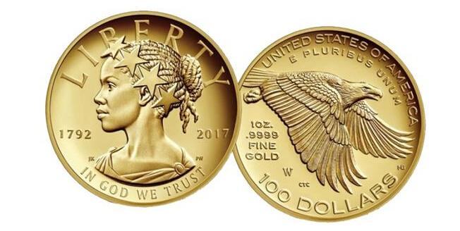 美国铸币局将发行自由女神纪念金银币