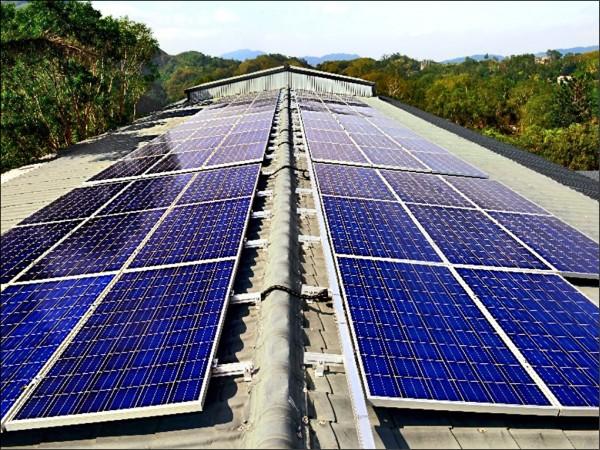 桃园市公有垃圾掩埋场3MW地面型太阳能系统也正式启用