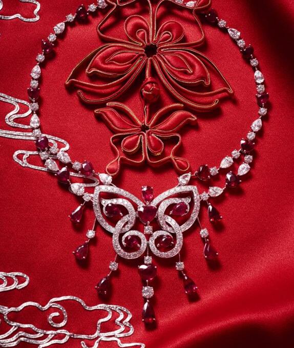 炫美图:红红火火的红色珠宝 让你提前沾沾喜气