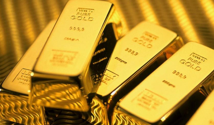 欧行可能继续放水 黄金价格回调破千二