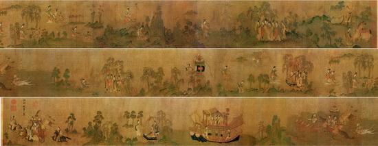 中国十大传世名画是哪些?