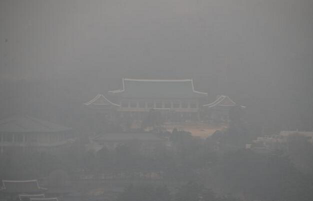 韩国称来自中国的雾霾 这个黑锅应该我们背吗?