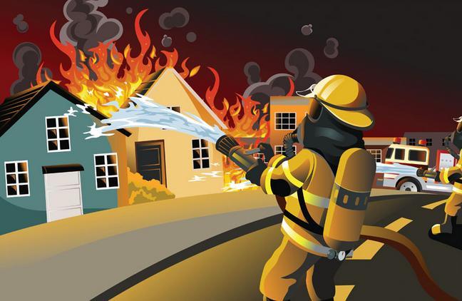 涪陵人保财险完成首笔火灾救助保险赔款