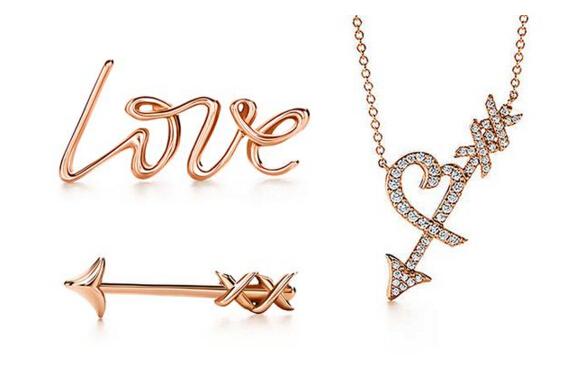 情人节丘比特之箭来袭 蒂芙尼全新Graffiti系列珠宝