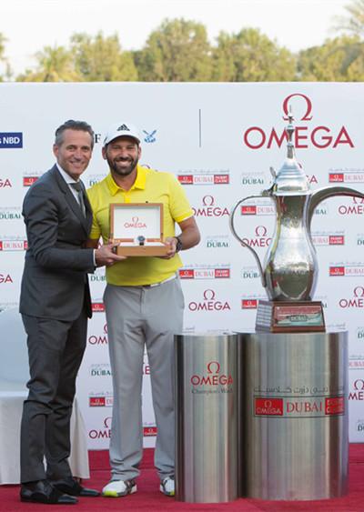 加西亚荣膺2017年欧米茄迪拜沙漠精英赛冠军