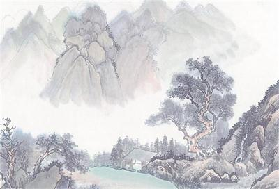 山水画_山水画特征_山水画基本画法_山水画创作规律_山水画主要代表