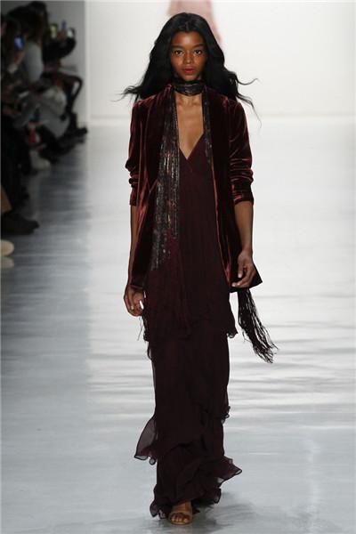 Erin Fetherston服装品牌于纽约发布2017秋冬系列