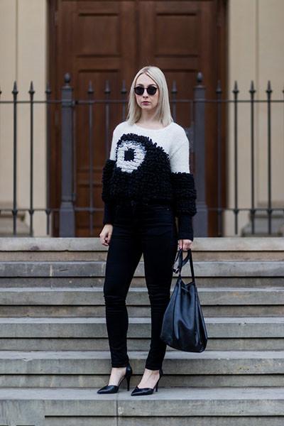欧美早春服装流行趋势 一件毛衣搞定所有搭配