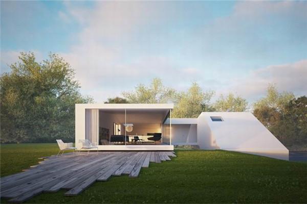Hafner豪宅:可以观赏到森林和山谷的美丽景色