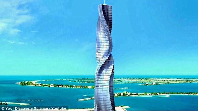 酷炫!迪拜建旋转摩天大楼