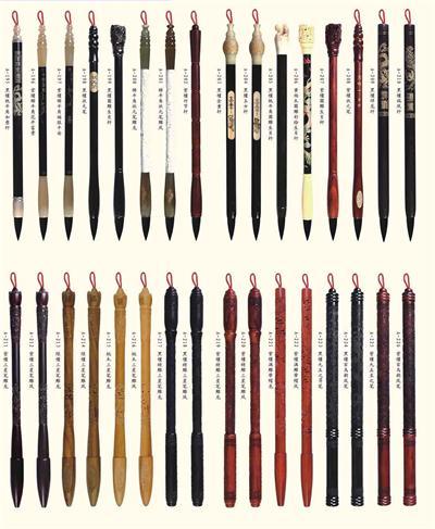 毛笔_毛笔制作工艺_毛笔分类_毛笔如何挑选_毛笔保养_毛笔怎么清洗