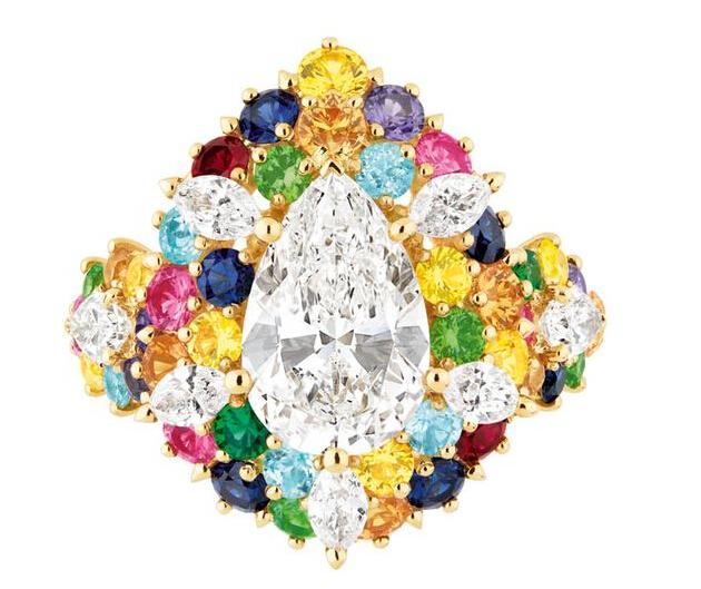 Dior全新Cher Dior系列高级珠宝:打造异国情调斑斓色彩