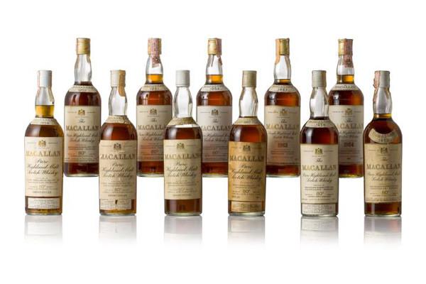 香港邦瀚斯举行首个威士忌名酒网上拍卖专场