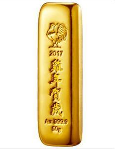 中國金幣丁酉年賀歲金條賞析