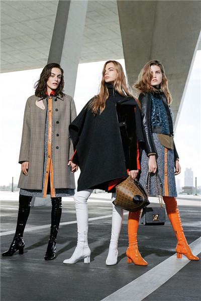 Louis Vuitton(路易威登)释出2017早秋系列时尚型录