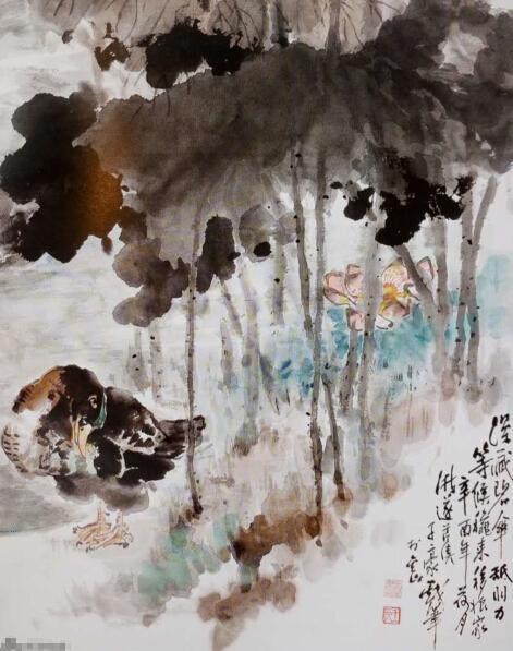 王昌杰国画作品欣赏