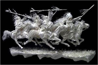纸雕_纸雕历史_纸雕制作方法_纸雕流派_纸雕艺术特点