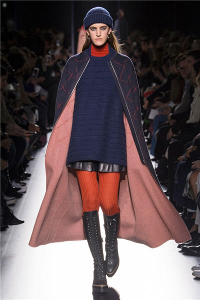 爱马仕于巴黎时装周发布2017秋冬系列高级成衣