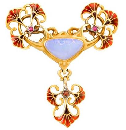 Boucheron珐琅珠宝 清新华丽两不误