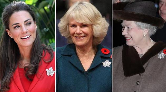 凯特王妃戴的珠宝 曾经也都出现在王室女人身上