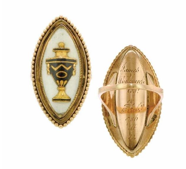 来自17世纪中叶的欧洲古董珠宝 尽在纽约古董戒指展
