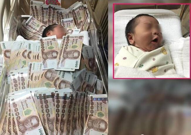 炫富新方式:婴儿盖40万睡
