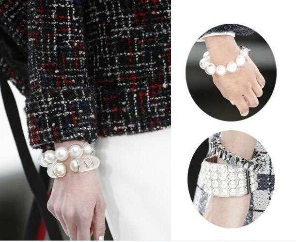 搭配灵感新来源 四大时装周上最吸睛的配饰之珠宝手镯篇
