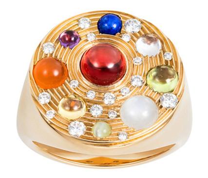 珠宝品牌Noor Fares再出高颜值天体系列 分分钟赚足回头率