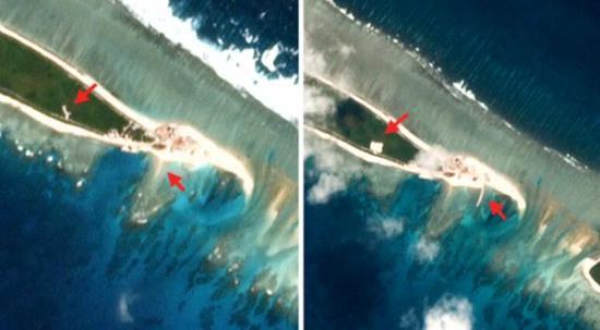 外媒称中国又开始了南海岛礁的建设 中:看重海洋合作
