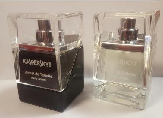 卡巴斯基公司为客户推出一款名为Threat de Toilette的香水产品