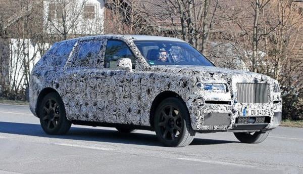 劳斯莱斯首款SUV假想图曝光 将于2018年正式投产