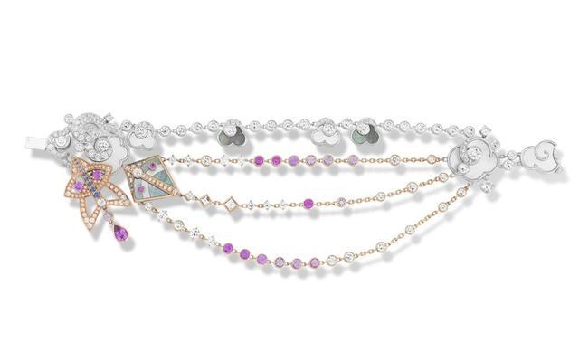Van Cleef & Arpels最新珠宝作品 搭载童年回忆的宝石风筝